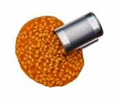 Spill the beans — Stock Photo