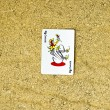 Joker playing card — Stock Photo #70402015
