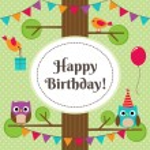 Vector birthday card — Stock Vector #79448732