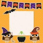 Halloween party card — Stock Vector #83804484