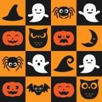 Halloween vector pattern — Stock Vector #84477008
