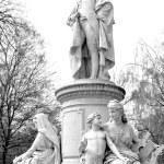 Goethe monument — Stock Photo #53189459