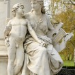 Goethe monument — Stock Photo #53189469
