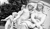 Goethe monument in Berlin, Germany — Stock Photo