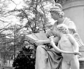 Pomnik goethego — Zdjęcie stockowe