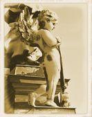 старинная открытка — Стоковое фото