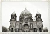 Carte postale ancienne de berlin — Photo