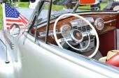 Vintage car interior — Stock Photo