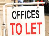 Offices to let — Stock Photo