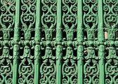 Ornate fence — Stock Photo