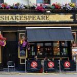 Shakespeare traditional British pub — Stock Photo #58110165