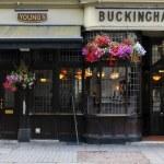 Traditional British pub — Stock Photo #58110299