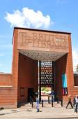 British Library — Stock Photo