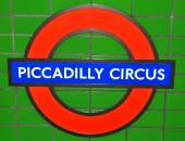Piccadilly circus — Stockfoto