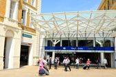 King's Cross train station in London — Stock Photo