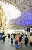 King's Cross train station in London — Stock Photo