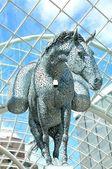 Horse statue — Stock Photo