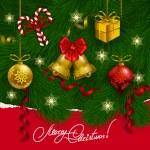 sfondo Natale — Vettoriale Stock  #54355987