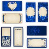 Elegante sjabloon voor luxe uitnodiging, kaart — Stockvector