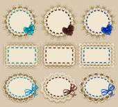 Elegant templates frame design — Stock Vector