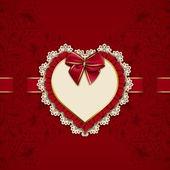 Elegant template for luxury invitation, card — Stock Vector
