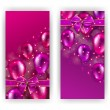 Festive background with hearts, bokeh — Stock Vector #72531349