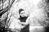 うつ病の女の子 — ストック写真