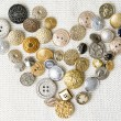 Buttons heart shaped — Stock Photo #60973737