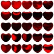 Hearts on Valentine's Day — Stock Photo #63738935