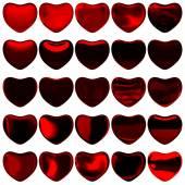 Corazones de san valentín — Foto de Stock