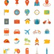 Travel Icons — Stock Vector #64862035