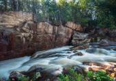 Wilmington Flume Trail — Stock Photo