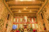 Old Mission Santa Ines Solvang California Basilica Altar Cross A — Stockfoto