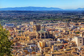 Alhambra Cityscape Cathedral  Granada Andalusia Spain — Stock Photo