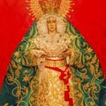 Постер, плакат: Basilica Mary With Tears Le Macarena Statue Santa Iglesia Colleg