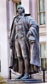 Albert Gallatin Statue US Treasury Department Washington DC — Stock Photo
