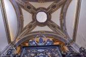 Small Chapel Gate Dome Old Basilica Shrine of Guadalupe Mexico — Stock Photo