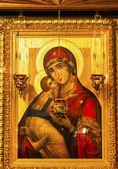 Golden Saint Barbara Icon Basilica Saint Michael Monastery Cathe — Stock Photo