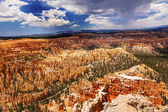 Storm Coming Amphitheater Hoodoos Bryce Point Bryce Canyon Natio — Stock Photo