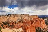 Rainy Storm Hoodoos Bryce Point Bryce Canyon National Park Utah — Stock Photo