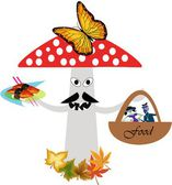 Amanita mushroom — Stock Vector