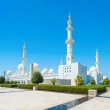 Sheikh Zayed Grand Mosque on October 2, 2014 in Abu Dhabi — Stock Photo #57287427