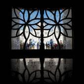 ABU DHABI, UAE - October 4, 2014: Sheikh Zayed Grand Mosque Ce — 图库照片