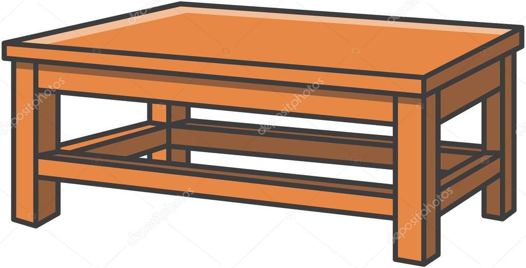 Ilustraci n de dibujos animados de vector de mesa comedor for Mesas de dibujo baratas