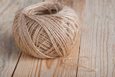 Skein of jute twine — Stock Photo