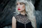Beautiful blonde — Stock Photo