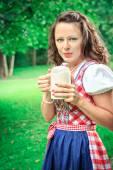 Bavarian girl — Stock Photo
