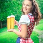 Bavarian girl — Stock Photo #56134191