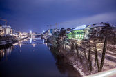 Bamberg at night — Stock Photo