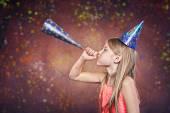 Celebrating birthday — Stock Photo